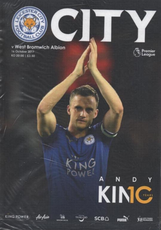 LEICESTER CITY v WEST BROM 2017/18