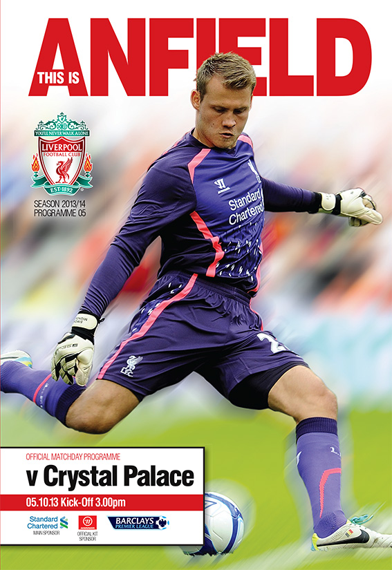 LIVERPOOL v CRYSTAL PALACE 2013/14