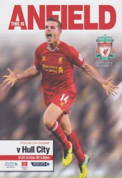 LIVERPOOL v HULL CITY 2013/14