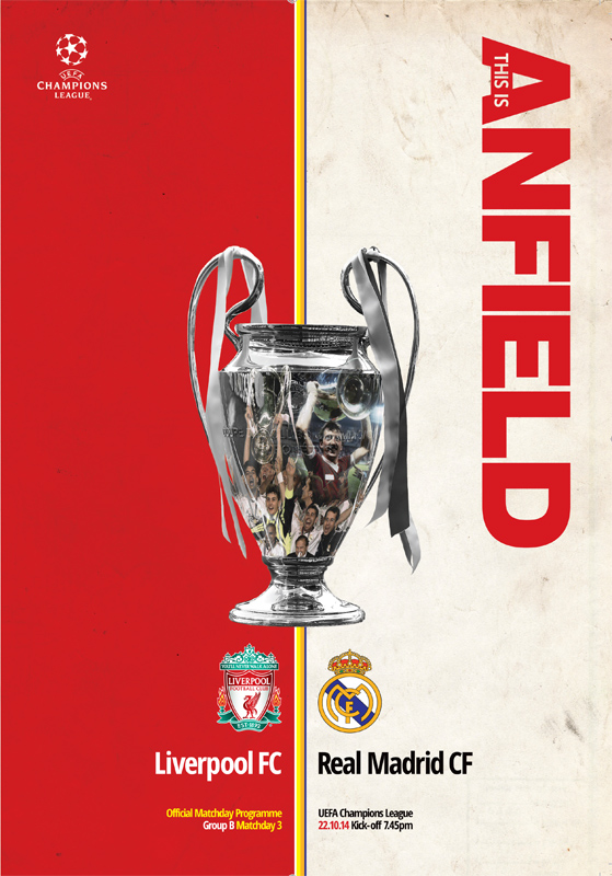 2014/15 CHAMPIONS LEAGUE - LIVERPOOL v REAL MADRID