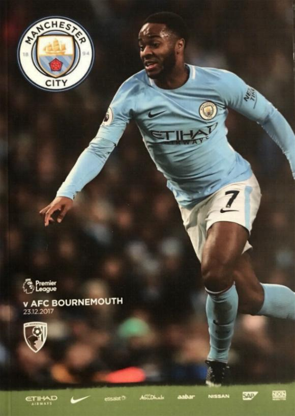 MAN CITY v BOURNEMOUTH 2017/18