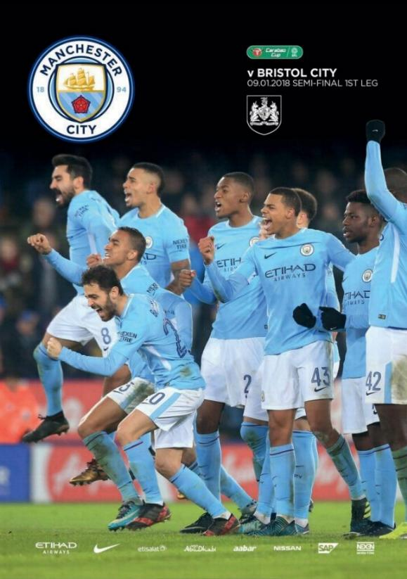 2018 CARABAO CUP SEMI-FINAL - MAN CITY v BRISTOL CITY