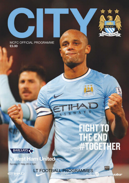 MAN CITY v WEST HAM 2013/14 (TITLE CLINCHER)