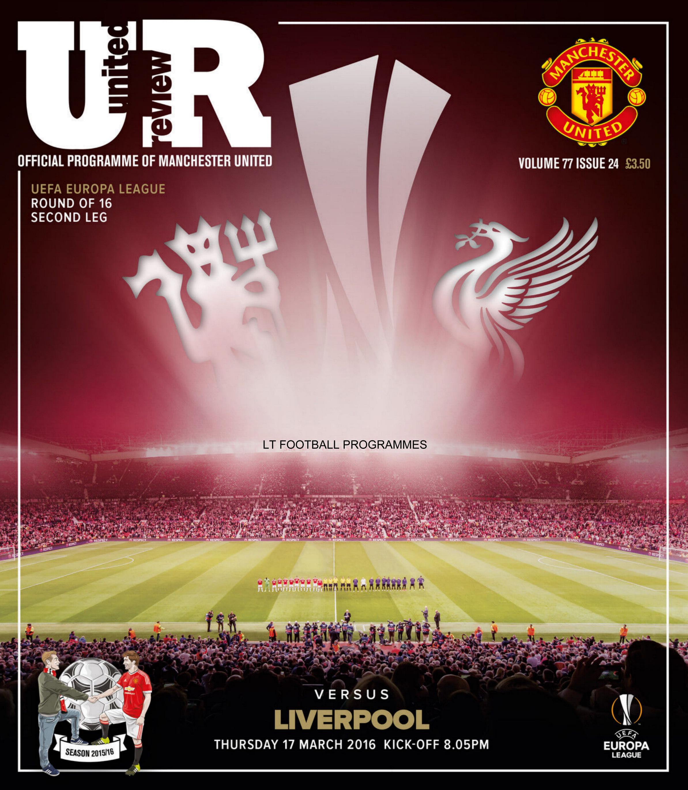 2015/16 EUROPA LEAGUE - MAN UTD v LIVERPOOL