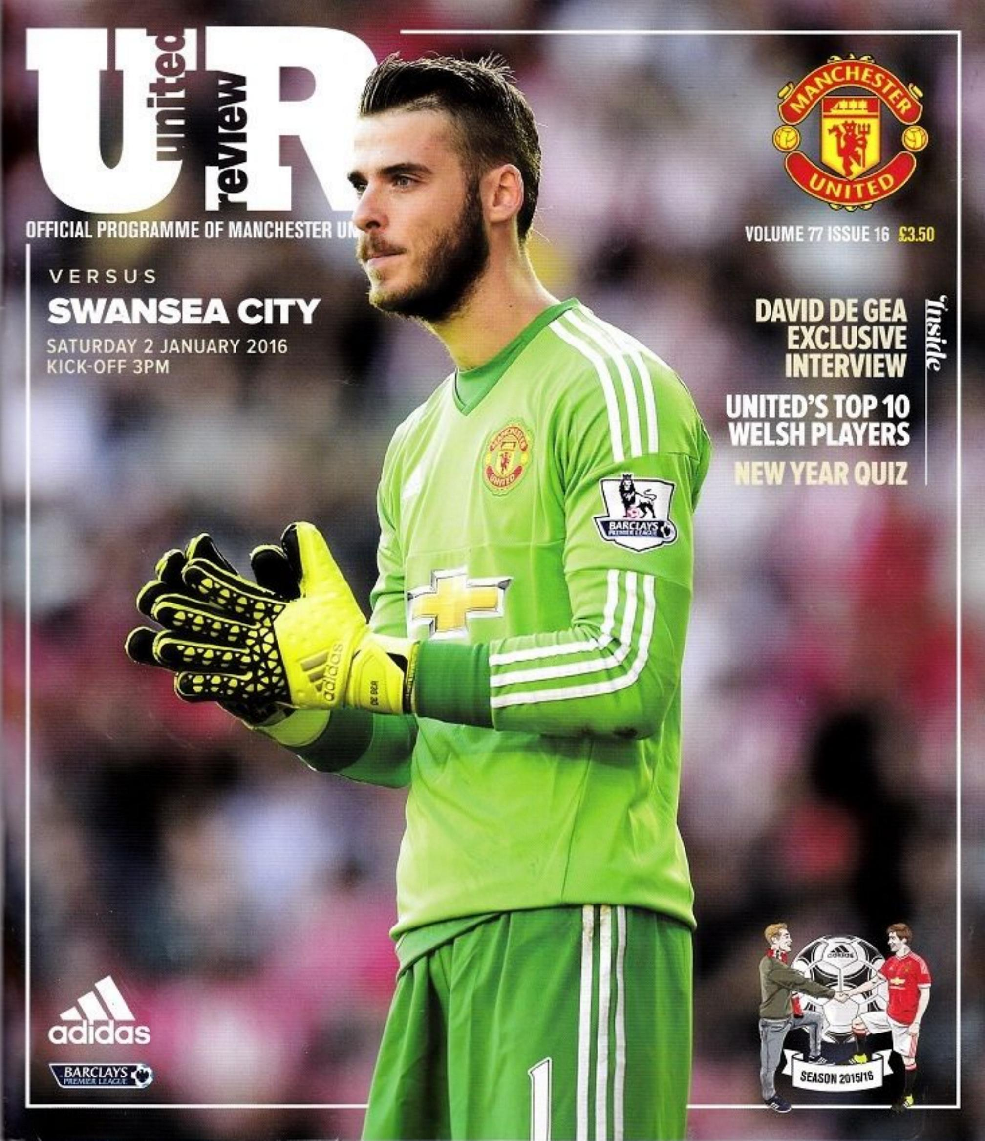 MAN UTD v SWANSEA CITY 2015/16