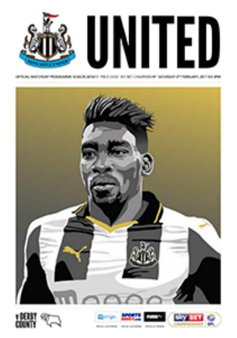 NEWCASTLE UNITED v DERBY COUNTY 2016/17