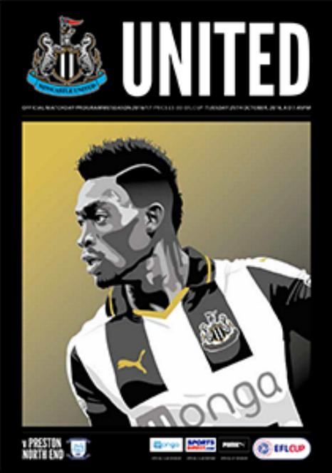 NEWCASTLE UNITED v PRESTON NORTH END 2016/17 (LEAGUE CUP)