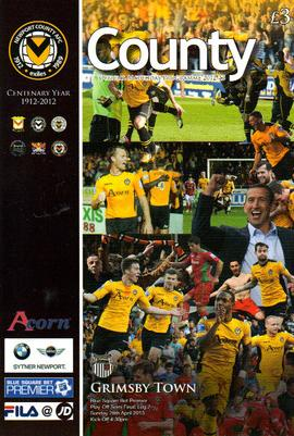 2013 PLAY-OFF SEMI-FINAL - NEWPORT COUNTY v GRIMSBY TOWN