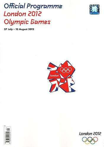LONDON 2012 OLYMPIC GAMES OFFICIAL PROGRAMME