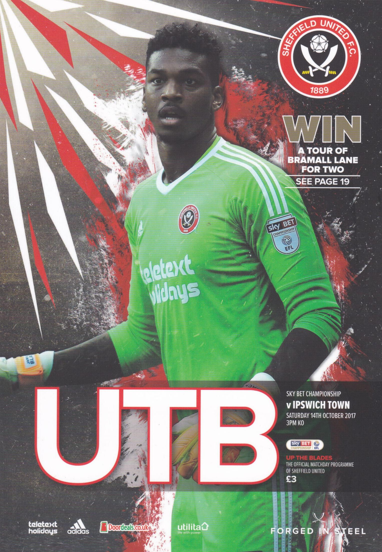 SHEFFIELD UNITED v IPSWICH TOWN 2017/18