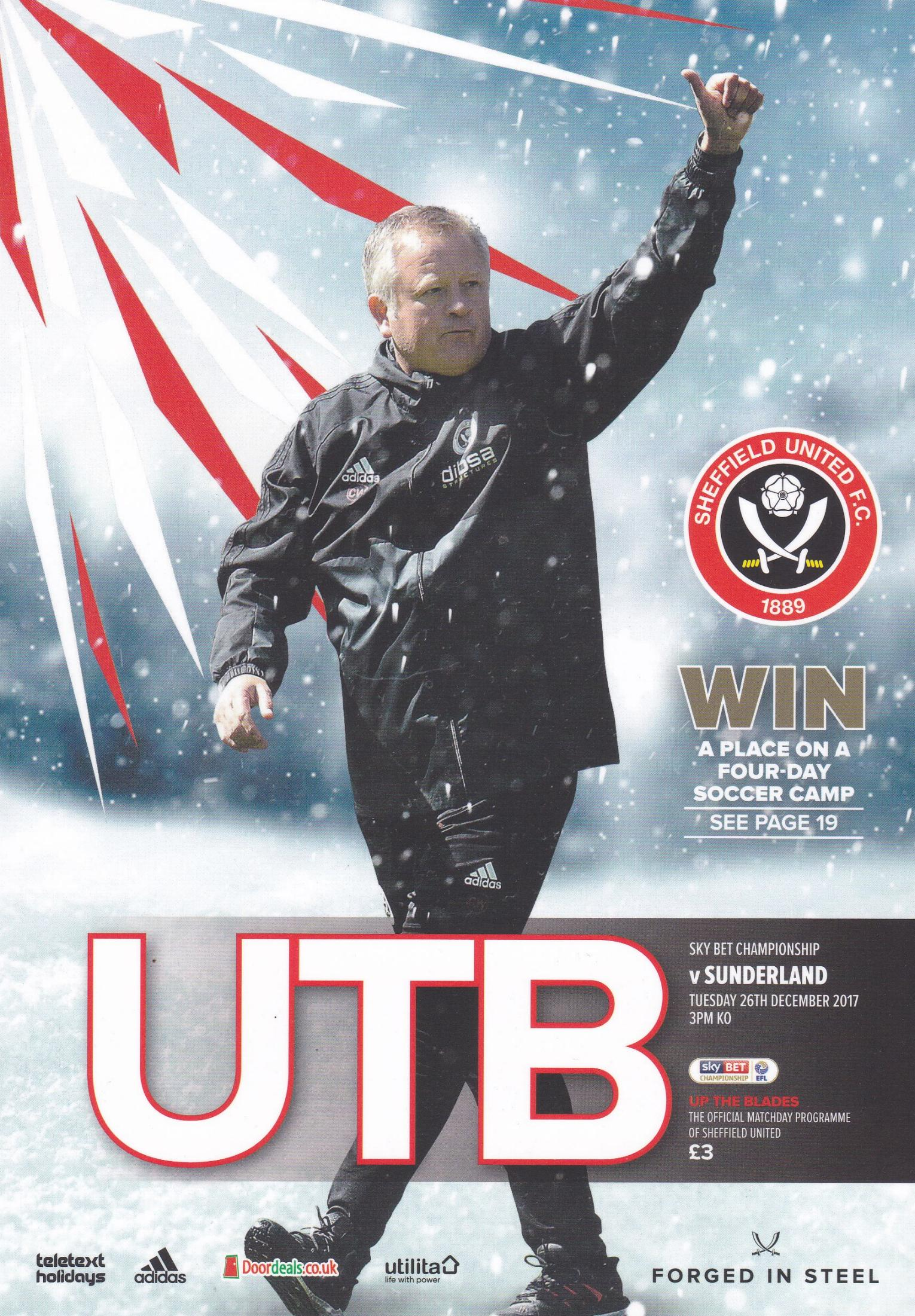 SHEFFIELD UNITED v SUNDERLAND 2017/18