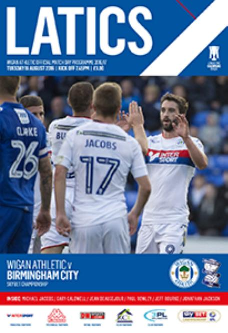 WIGAN ATHLETIC v BIRMINGHAM CITY 2016/17