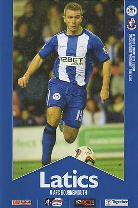 WIGAN ATHLETIC v BOURNEMOUTH 2012/13 (FA CUP)