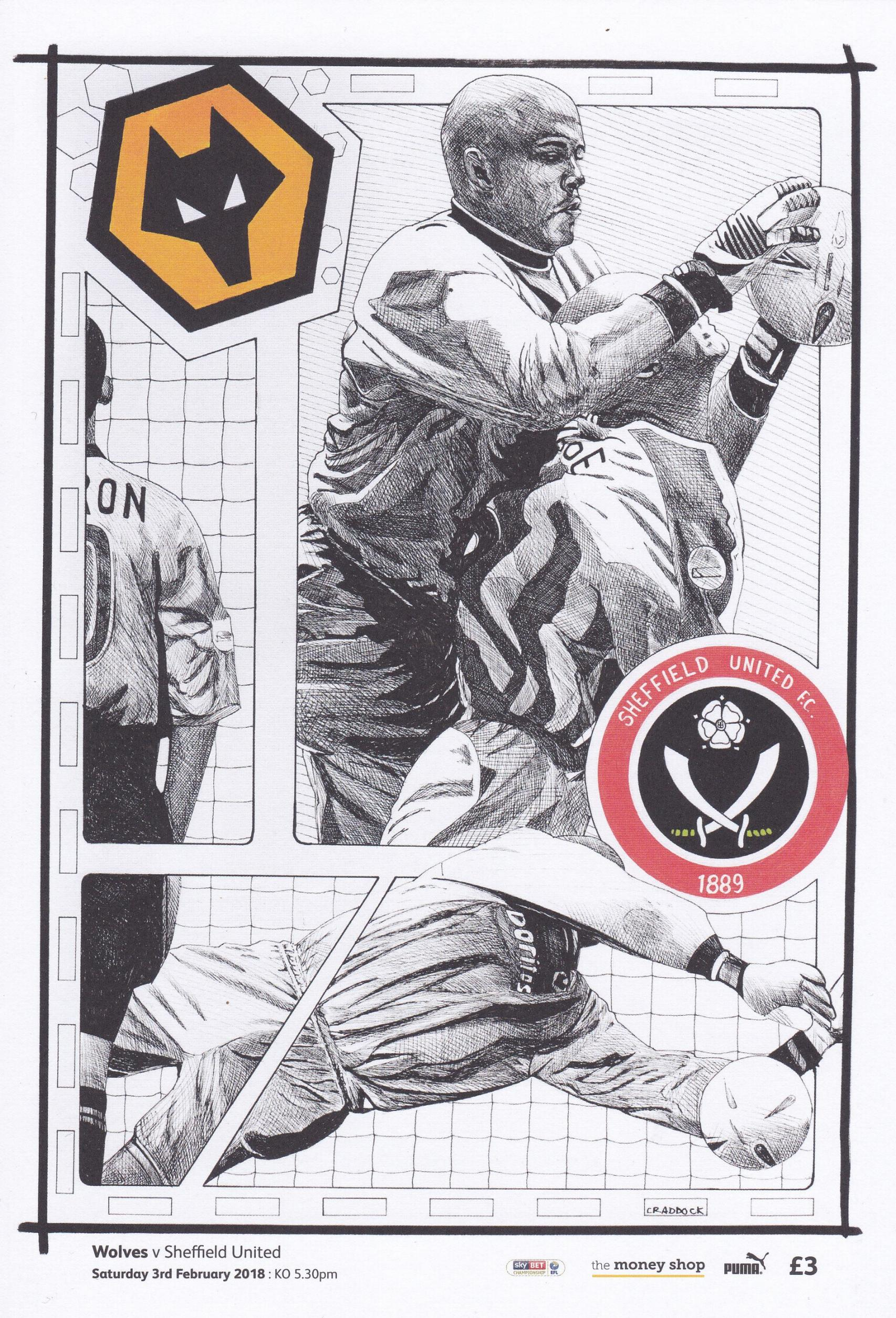 WOLVES v SHEFFIELD UNITED 2017/18